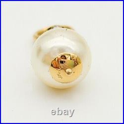 14k gold pendants/charms for earrings necklace bracelet 4 pieces (2 sets), 4.71g
