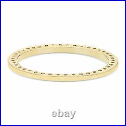 2ct Bead Set Diamond Bezel 18ky For Rolex President, Day Date, Datejust 36mm
