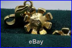 AAA Akoya Pearl 14k Solid Gold Flower Necklase Bracelet Set