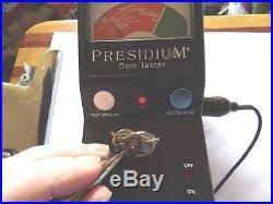 Art nouveau 9 carat rose gold garnet set lucky clover brooch + seed pearl PB4-7