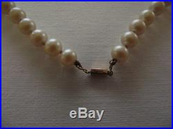 Ciro Cultured Pearl Necklace & Earring Set, 9ct Gold Ingot Clasp C1930's