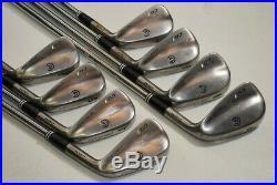 Cleveland CG1 Black Pearl 3-PW Iron Set Right Stiff Flex Dynamic Gold # 68124