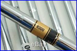 Cleveland Cg1 Black Pearl Iron Set Regular Flex Dynamic Gold Steel 3-pw 0758503