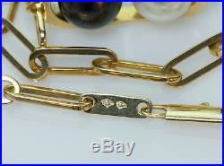 Dinh Van Pearl 18K Yellow Gold Ring & Necklace Set