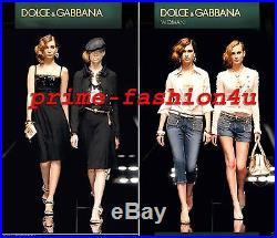Dolce & Gabbana Antique Brass Pearl Embellishment Heart Necklace Earrings Set