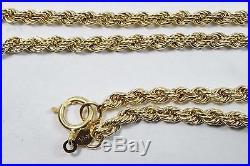 Handmade 14k Gold Freshwater Pearl 24 Chain & 7.25 Bracelet Set 7.5g White