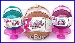 L. O. L. Limited Edition 3 Pc Set Big Gold + Mermaid Pearl Surprise Wave 1 & 2 LOL