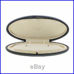 Mikimoto Akoya Cultured Pearl Set, 18 Karat White Gold