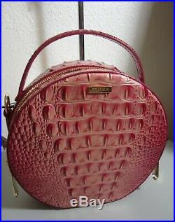NWT Brahmin Lotus Pink Lane Round Melbourne Crossbody Jane Wallet 2 pc Set