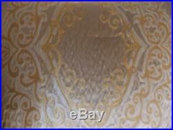 New Croscill Pearl Champagne Gold 5 Piece Queen Comforter Set