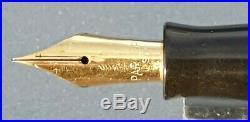 Parker Vacumatic Emerald Pearl Set 14k Gold Flex Nib Lockdown Filler Restored