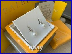 Paspaley Pearls My Way White Gold Pearl & Diamond Earrings with Full Set
