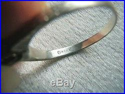 Rarest Ostby Barton 14k White Gold Tiffany Set Pearl Engagement Solitaire Ring
