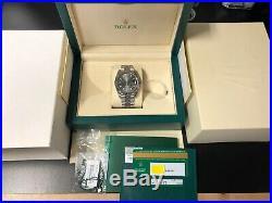 Rolex Datejust 41 126334 Stainless Steel Dark Rhodium Dial Complete Set Jubilee