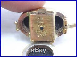 Sam Shaw Beachstone Sterling Silver 22K Gold Basalt Biwa Pearl Bracelet & Brooch