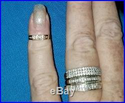 VINTAGE lot baby 10k rings &14k GF 1/20 yellow gold filled beaded Pearl bracelet