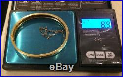 Victorian 14k Gold Hinged Wedding Bangle Set Wit Seed Pearls & Turquoise Buy It