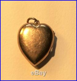 Victorian gold seed pearl and turquoise set heart shaped locket