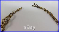 Vintage Gold Gilt Filigree Green Rhinestone & Baroque Pearl Dragon Demi Parure